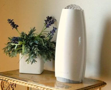 Photo of air purifier on table