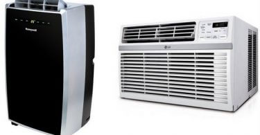 portable vs window air conditioner