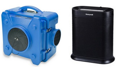 air scrubber vs air purifier