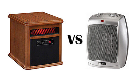ceramic vs infrared heater