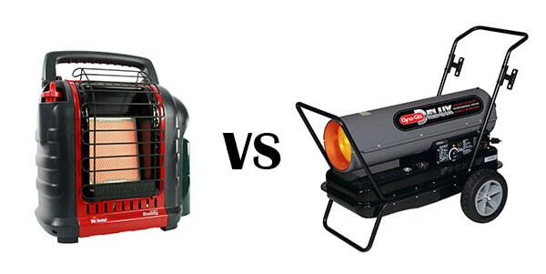 propane vs kerosene heater