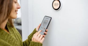 line voltage smart thermostat