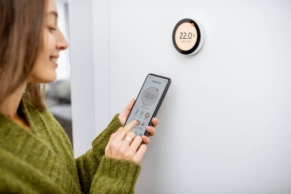 line voltage smart thermostat