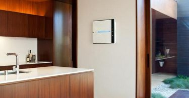 wall-mounted air purifier